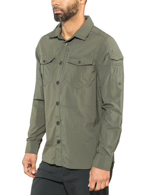 Craghoppers NosiLife Adventure II - T-shirt manches longues Homme - olive